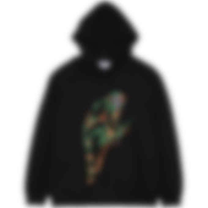 MSGM - Jungle Print Hoodie - Black