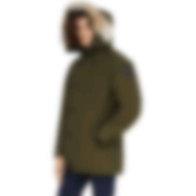 Canada Goose - Black Label Chateau Parka - Forest Green