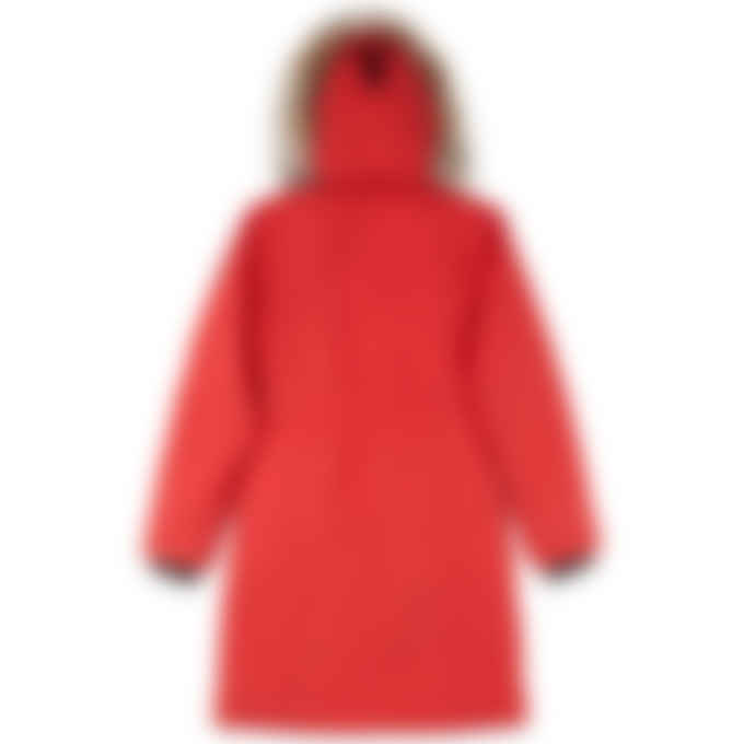 Canada Goose - Youth Brittania Parka - Red