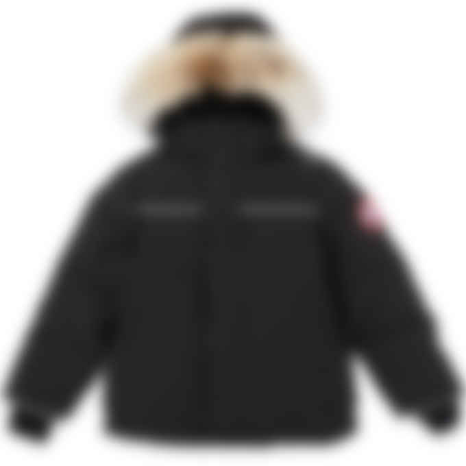 Canada Goose - Kids Snowy Owl Parka - Black
