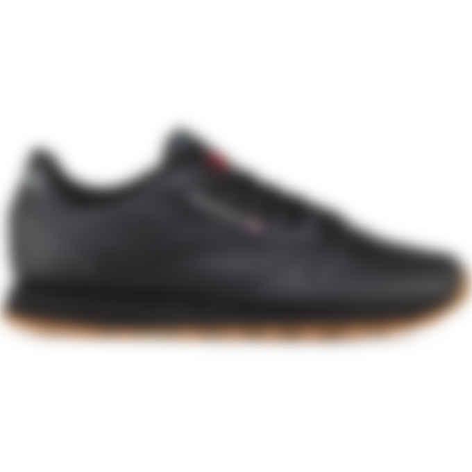 Reebok - Classic Leather - Intense Black/Gum