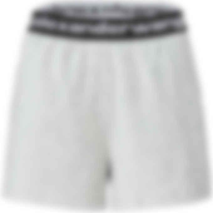 alexanderwang.t - Stretch Corduroy Shorts - Heather Grey