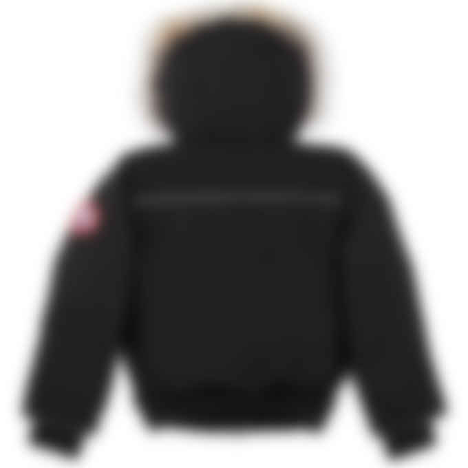 Canada Goose - Kids Grizzly Bomber - Black