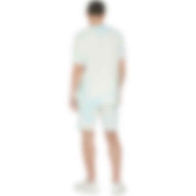 Champion - Cloud Dye Jersey Shorts - Forest Blue/Iced Green Tea/Light Sea Green