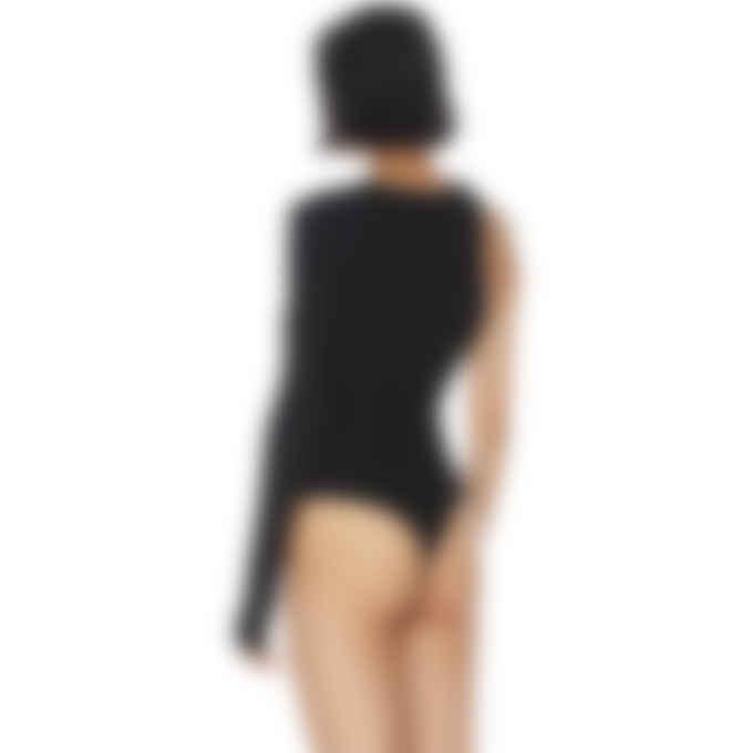 AGOLDE - Bae Cutaway Bodysuit - Black