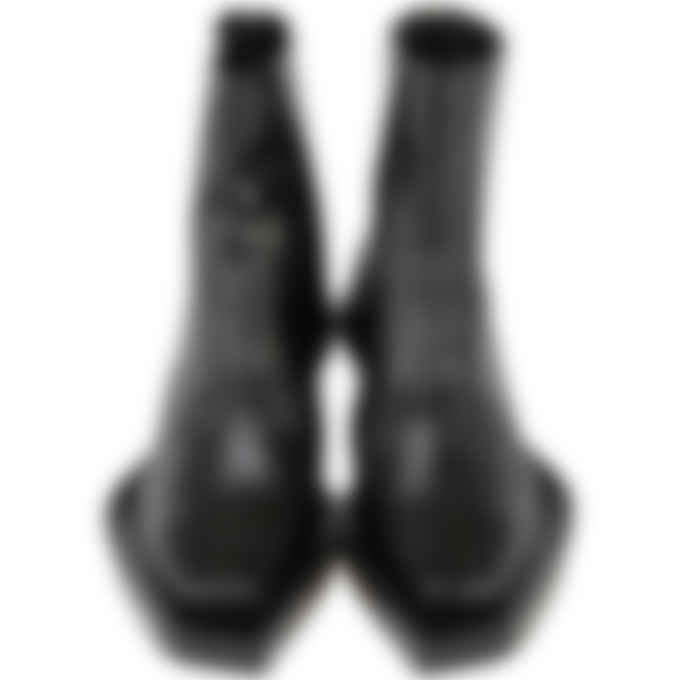 1017 ALYX 9SM - Leather Toad Print Leone Boot - Black