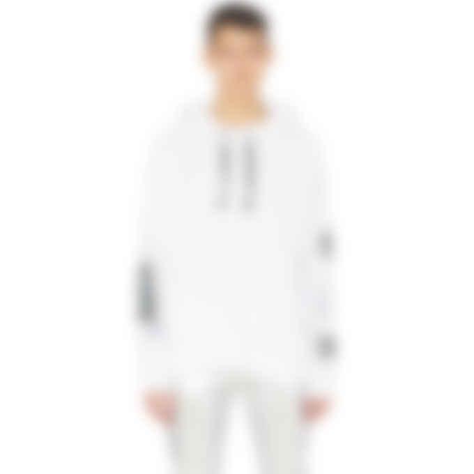1017 ALYX 9SM - Triple Print Hooded T-Shirt - White