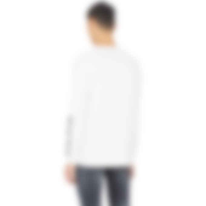 1017 ALYX 9SM - Infared Long Sleeve T-Shirt - White