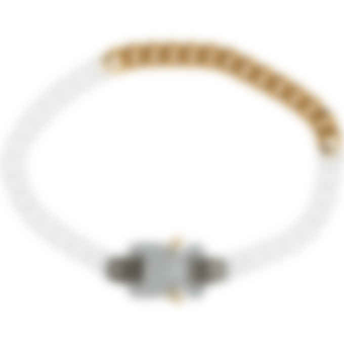 1017 ALYX 9SM - Transparent Chain and Metal Necklace - Transparent/Gold