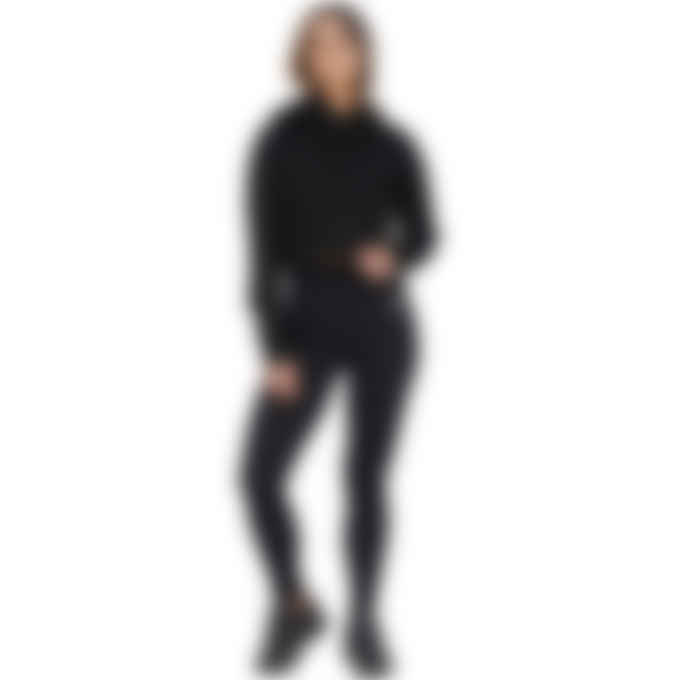1017 ALYX 9SM - Sleeve Logo Cropped Hoodie - Black