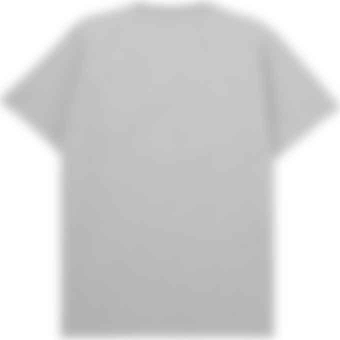 Maison Kitsuné - Fox Head Patch Classic T-Shirt - Grey Melange