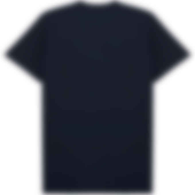 Maison Kitsuné - Fox Head Patch Classic T-Shirt - Navy