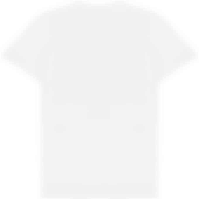 Maison Kitsuné - Fox Head Patch Classic T-Shirt - White