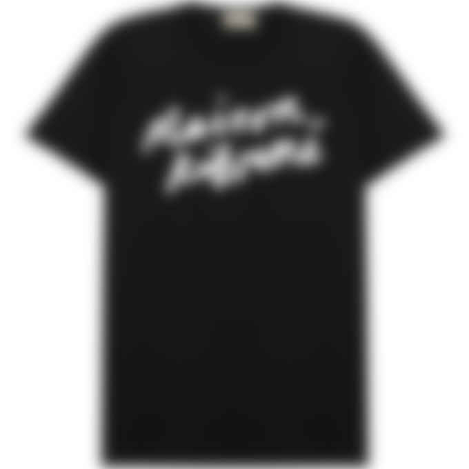 Maison Kitsuné - Handwriting Classic T-Shirt - Black