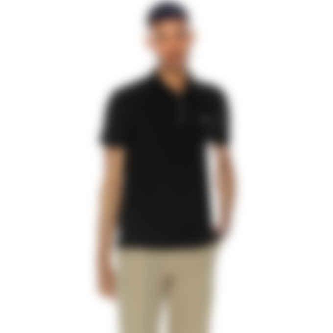 Maison Kitsuné - Tricolor Fox Patch Classic Polo Shirt - Black