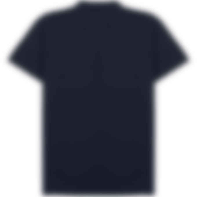 Maison Kitsuné - Tricolor Fox Patch Classic Polo Shirt - Navy