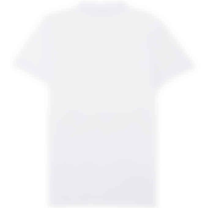 Maison Kitsuné - Tricolor Fox Patch Classic Polo Shirt - White