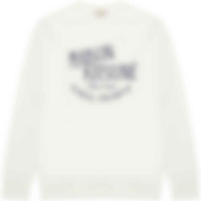 Maison Kitsuné - Palais Royal Classic Pullover Sweater - Ecru