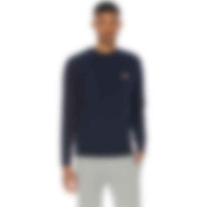 Maison Kitsuné - Fox Head Patch Classic Pullover Sweater - Navy