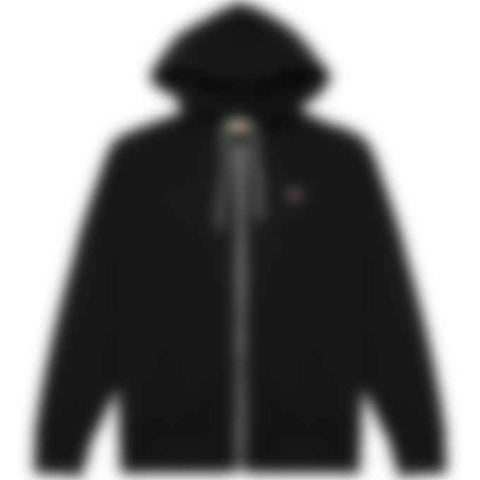 Maison Kitsuné - Tricolor Fox Patch Zip Hoodie - Black