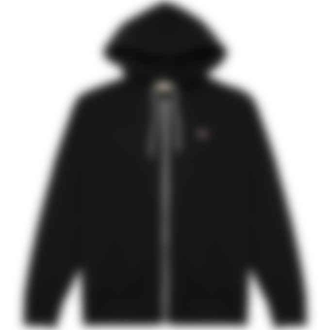 Maison Kitsuné - Tricolor Fox Patch Zip Hoodie - Black