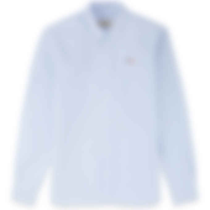Maison Kitsuné - Tricolor Fox Patch Classic Oxford Shirt - Light Blue