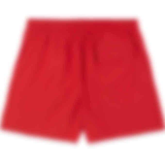 Maison Kitsuné - Tricolor Fox Swim Shorts - Red