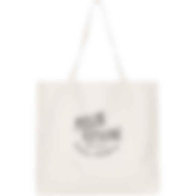 Maison Kitsuné - Palais Royal Shopping Bag - Ecru/Black