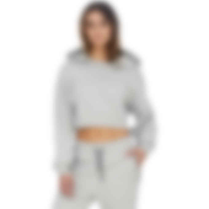 1017 ALYX 9SM - Visual Cropped Hoodie - Grey