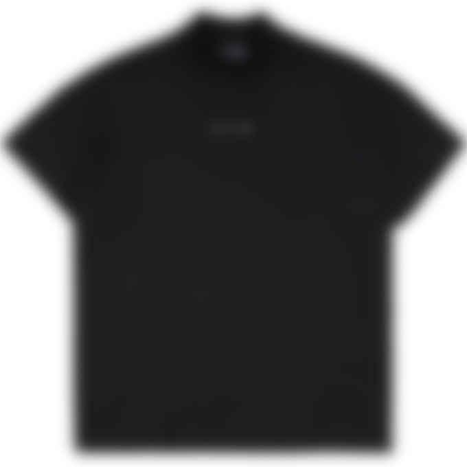 1017 ALYX 9SM - Logo Mock Neck T-Shirt - Black