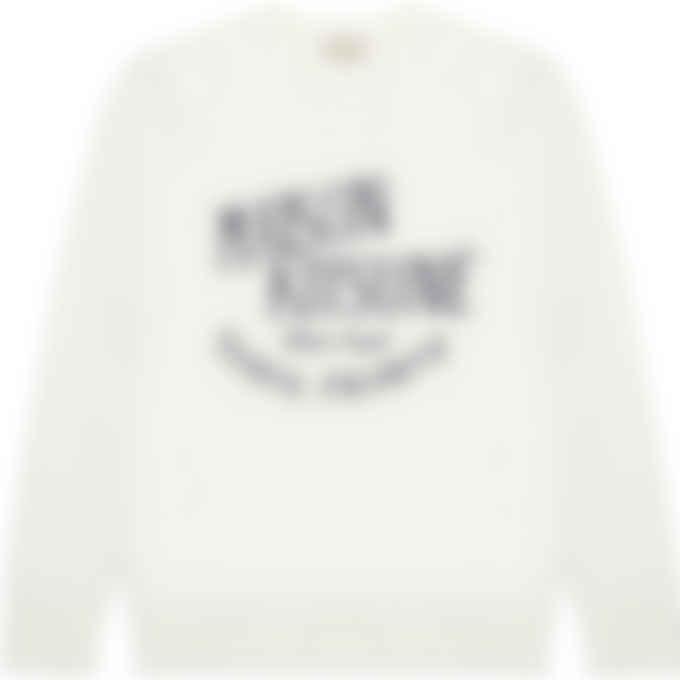 Maison Kitsuné - Palais Royal Vintage Pullover Sweater - Ecru