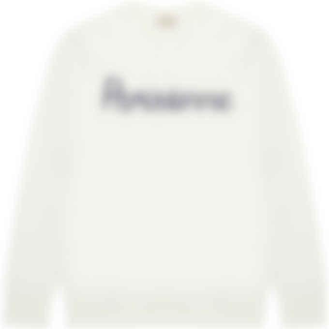 Maison Kitsuné - Parisienne Vintage Pullover Sweater - Ecru