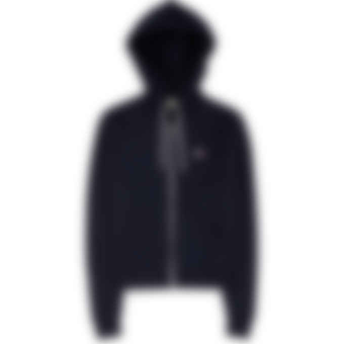 Maison Kitsuné - Tricolor Fox Patch Zip Hoodie - Navy