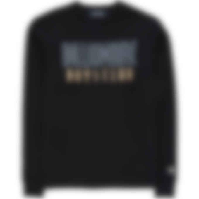 Billionaire Boys Club - Straight Logo Crew Pullover Sweater - Black