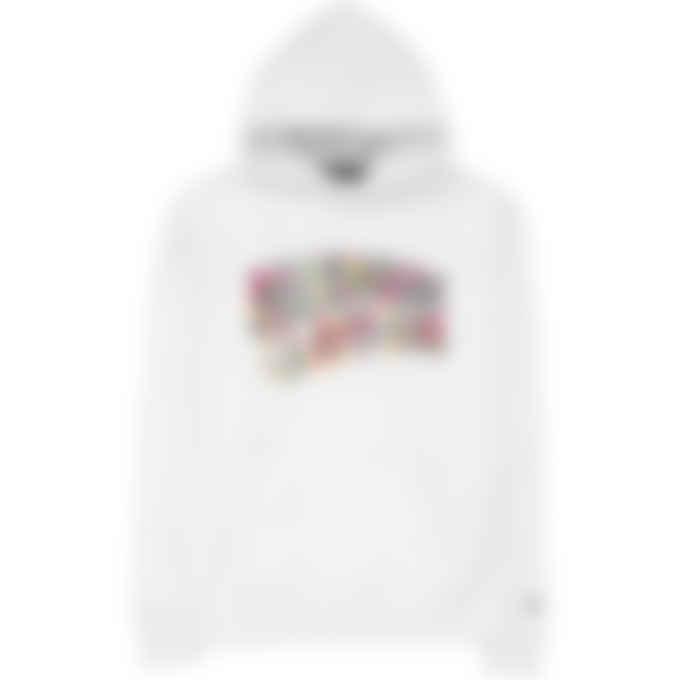 Billionaire Boys Club - Confetti Fill Arch Logo Hoodie - White