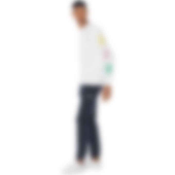 Billionaire Boys Club - Repeat Astro Long Sleeve T-Shirt - White