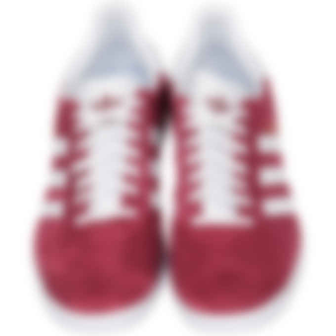 adidas Originals - Gazelle - Collegiate Burgundy/Cloud White/Gold Metallic