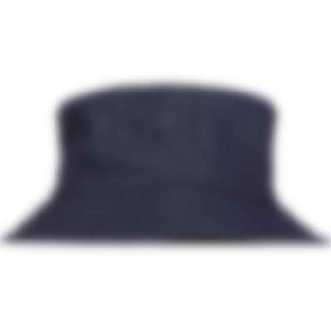 A.P.C. - Alex Guitar and Dagger Bucket Hat - Indigo