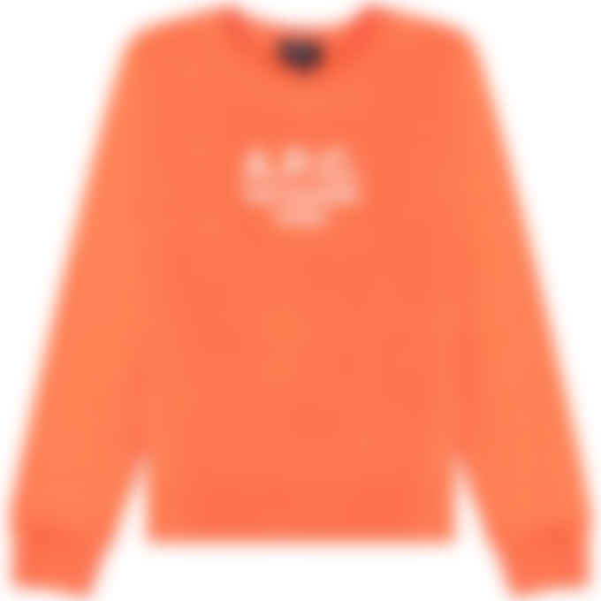 A.P.C. - Tina Pullover Sweater - Coral