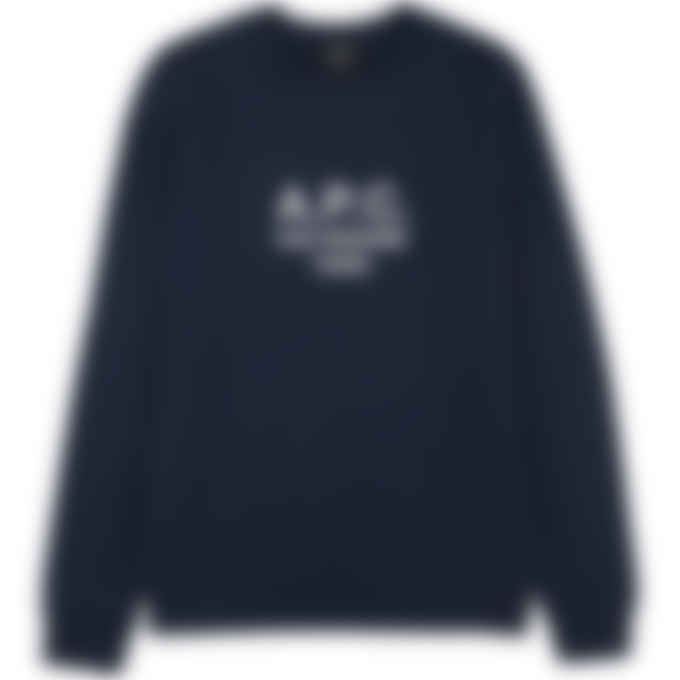 A.P.C. - Rufus Pullover Sweater - Navy Blue