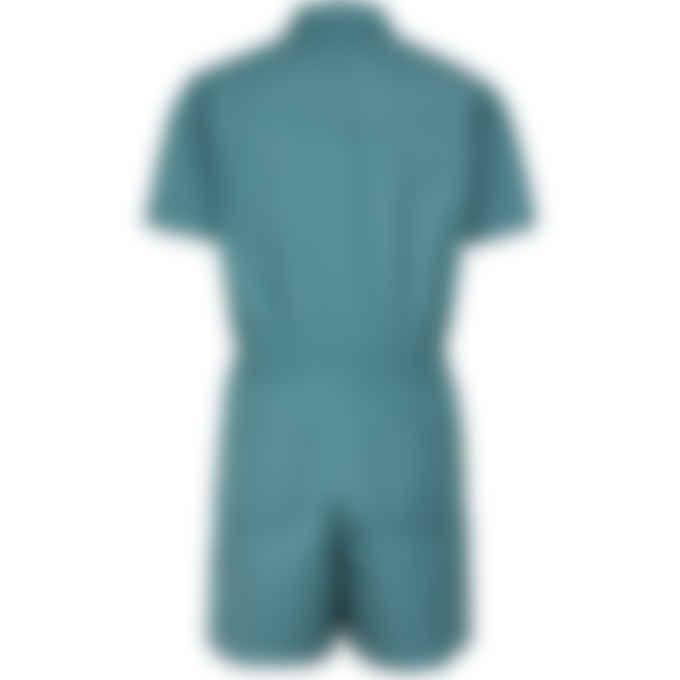 A.P.C. - Harriman Jumpsuit -  Duck Blue