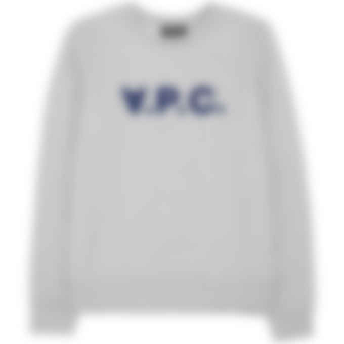A.P.C. - Viva Pullover Sweater - Heather Grey