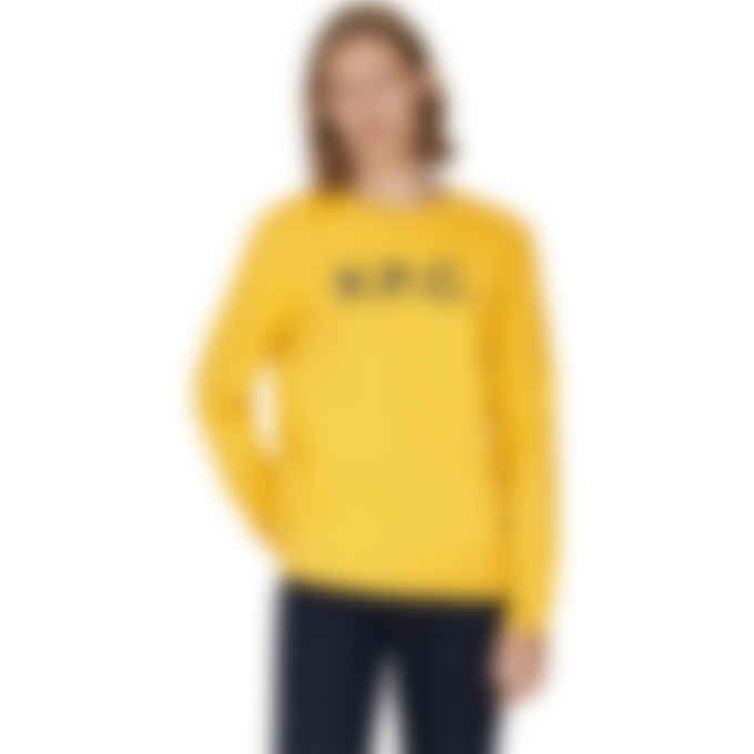 A.P.C. - VPC Pullover Sweater - Saffron Yellow