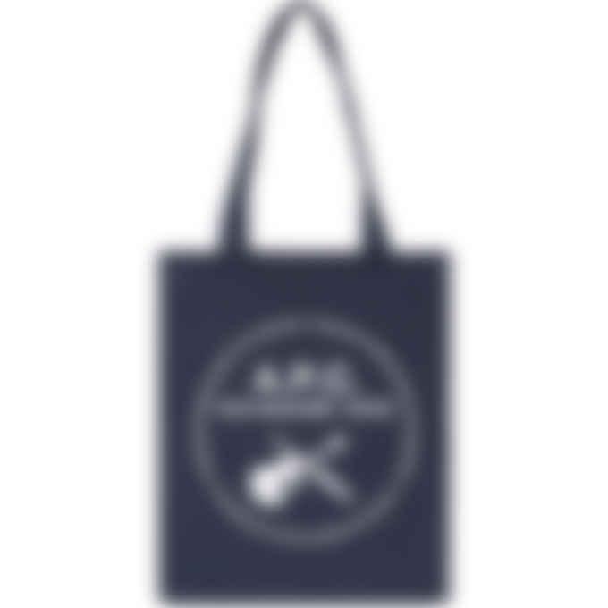 A.P.C. - Guitar Dagger Tote Bag - Indigo