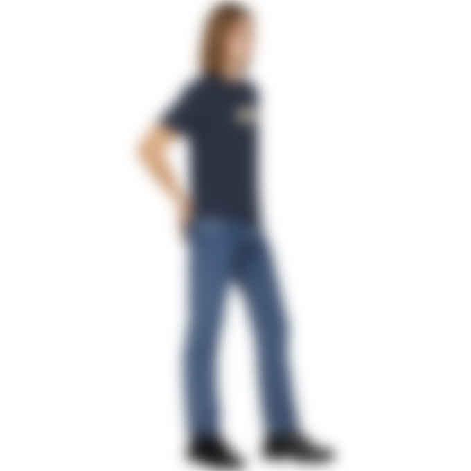 A.P.C. - Gael T-Shirt - Heather Navy Blue