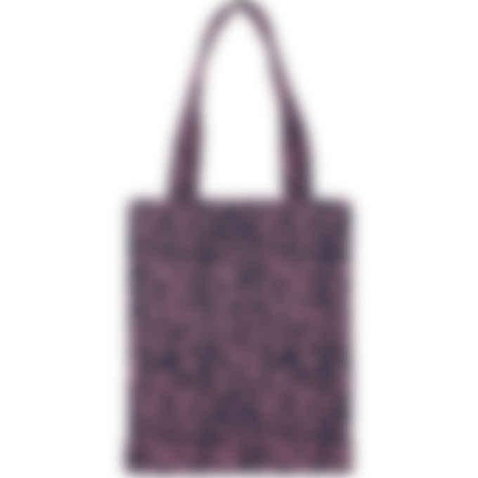 A.P.C. - Diane Leopard Print Tote Bag - Dark Navy