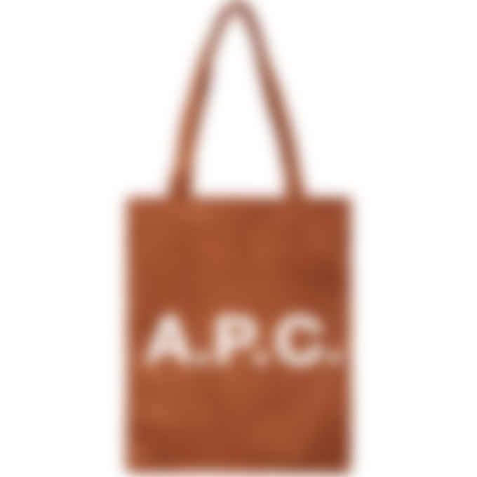 A.P.C. - Lou Tote Bag - Whiskey