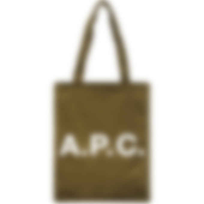 A.P.C. - Lou Tote Bag - Khaki Green