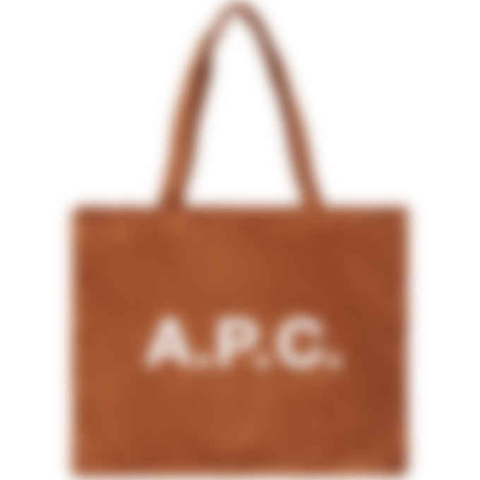 A.P.C. - Diane Shopping Bag - Whiskey