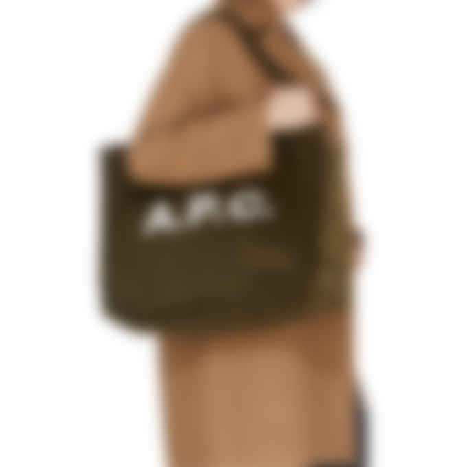 A.P.C. - Diane Shopping Bag - Khaki Green